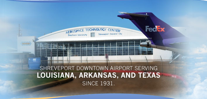 Shreveport Downtown Airport Serving Louisianna, Arkansas, and Texas since 1931